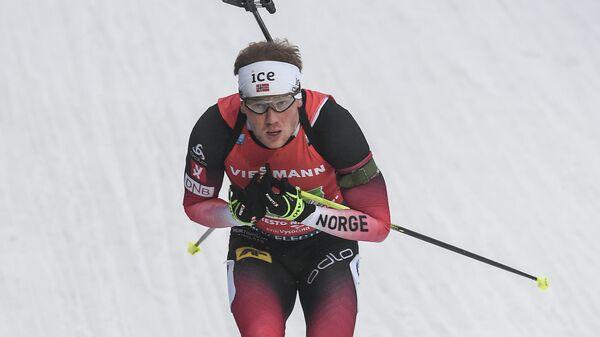 Биатлонист Йоханнес Дале (Норвегия)
