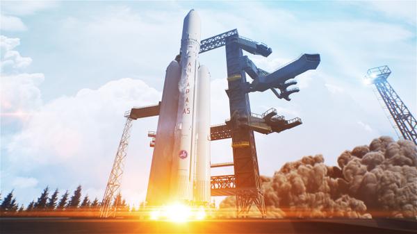 Новейшая российская ракета-носитель тяжелого класса «Ангара-А5»