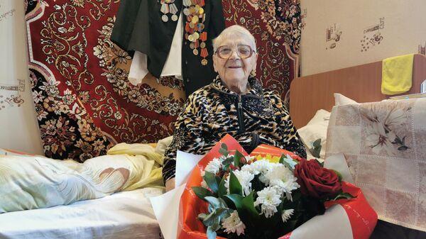 Ветеран Великой Отечественной войны Наталья Донскова из Ессентуков