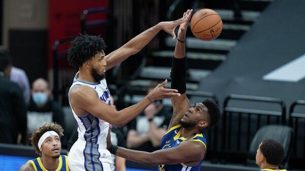 Предсезонный матч НБА Голден Стэйт Уорриорз - Сакраменто Кингз