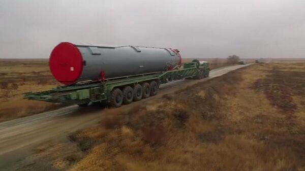 Ракетный комплекс Авангард установили в шахту под Оренбургом