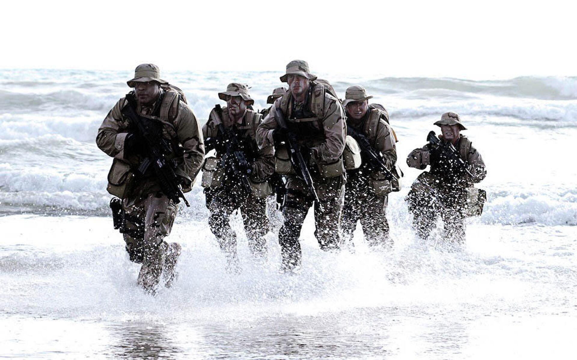 Бойцы спецназа Navy SEAL (США) - РИА Новости, 1920, 06.04.2021