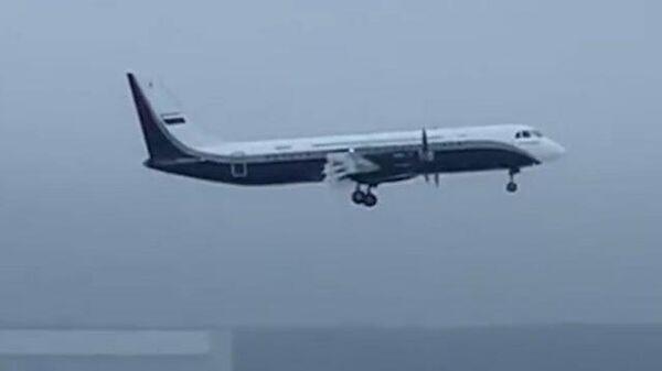 Первый взлет нового российского самолета Ил-114-300