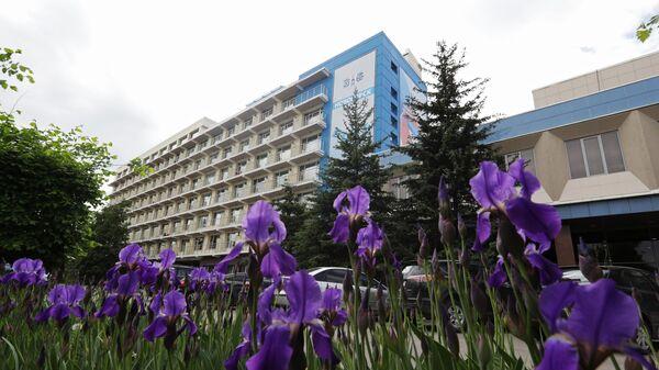 Корпус Учебно-тренировочного Центра Новогорск в Московской области