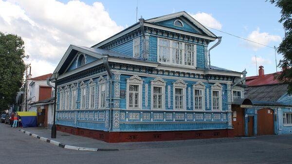 Дом Гришаева на набережной Революции в Городце