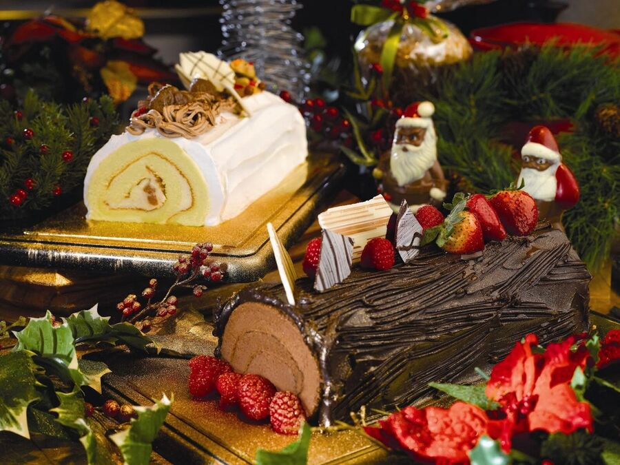 Рождественское полено во Франции