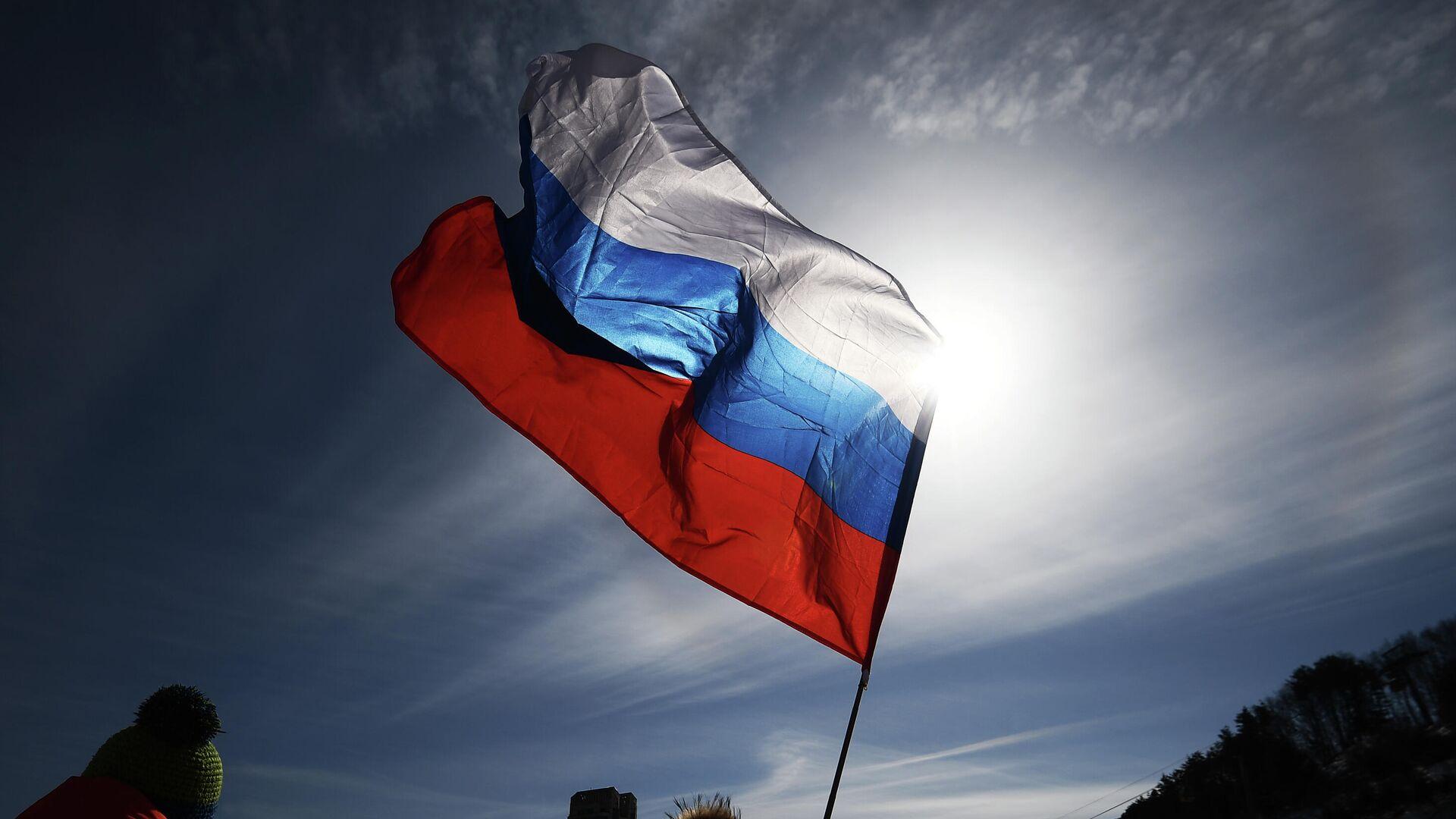 Российский флаг - РИА Новости, 1920, 17.12.2020