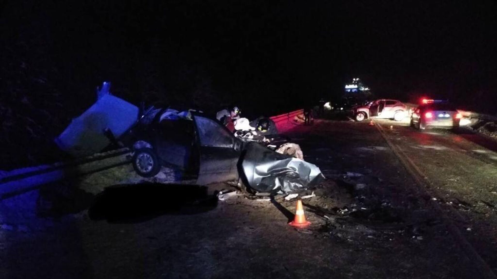 В Кировской области три человека погибли в ДТП на трассе