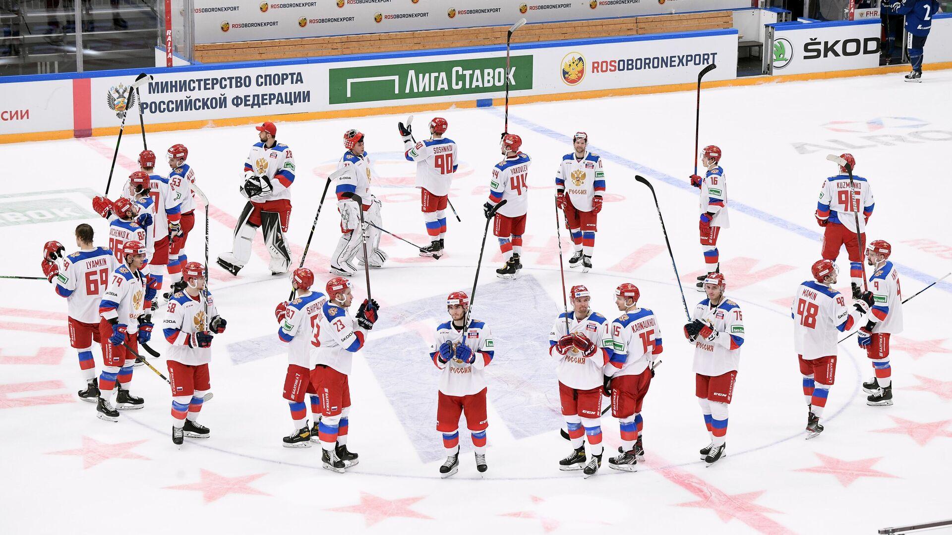 Игроки сборной России - РИА Новости, 1920, 21.12.2020