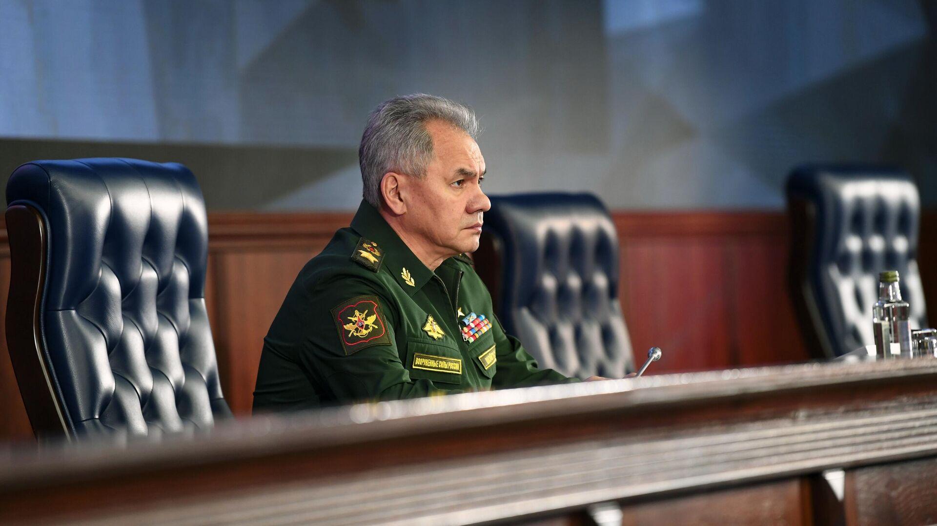 Шойгу рассказал о заболеваемости COVID-19 в российской армии