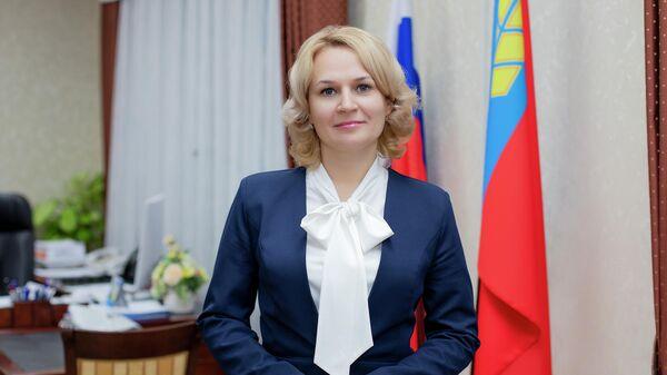 Министр социальной защиты Алтайского края Наталья Оськина