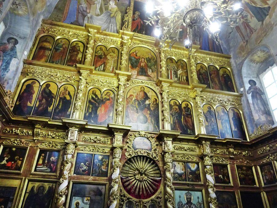 Церковь Димитрия на крови в кремле, иконостас