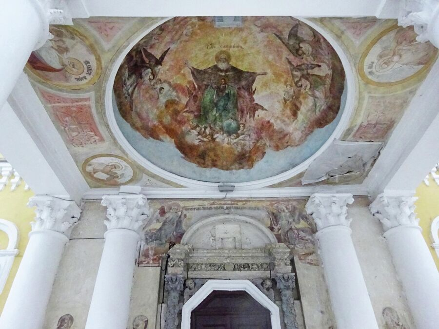 Спасо-Преображенский собор в кремле, росписи