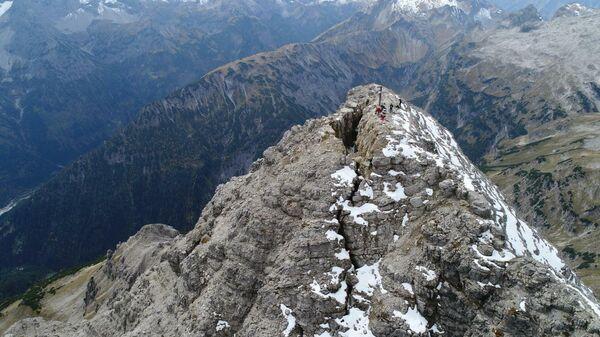 Гора Хохфогель в Альпах