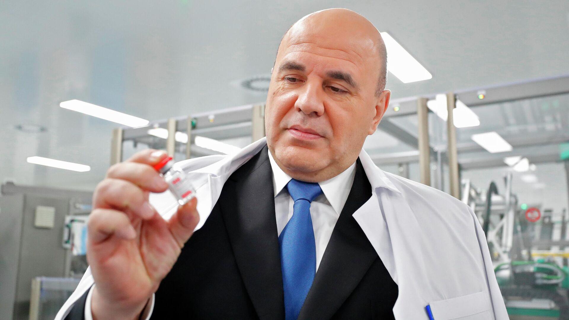 Мишустин призвал обеспечить непрерывную вакцинацию в праздники