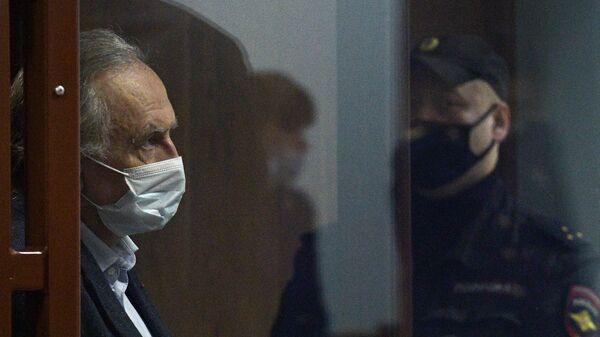 Оглашение приговора историку Олегу Соколову в Санкт-Петербурге