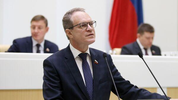 Заместитель председателя комитета Совета Федерации РФ по конституционному законодательству и государственному строительству Александр Башкин