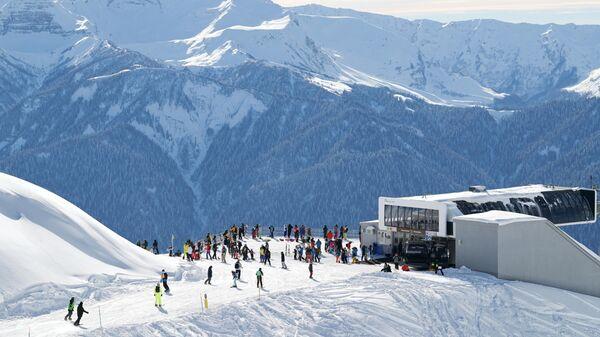 Начало горнолыжного сезона в Сочи