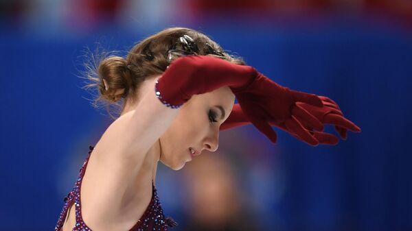 Фигуристка Дарья Усачева (Россия)