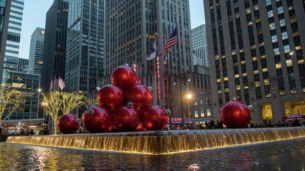 Праздничный Нью-Йорк