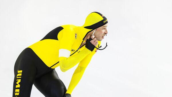 Конькобежец Свен Крамер (Нидерланды)