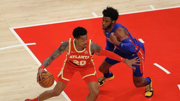 Игровой момент матча НБА Атланта Хокс - Детройт Пистонс