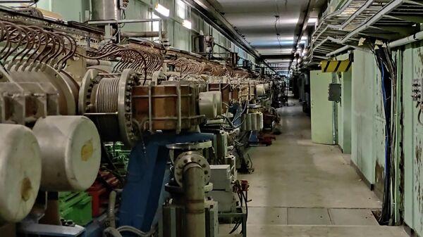 Линейный ускоритель протонов ИЯИ РАН