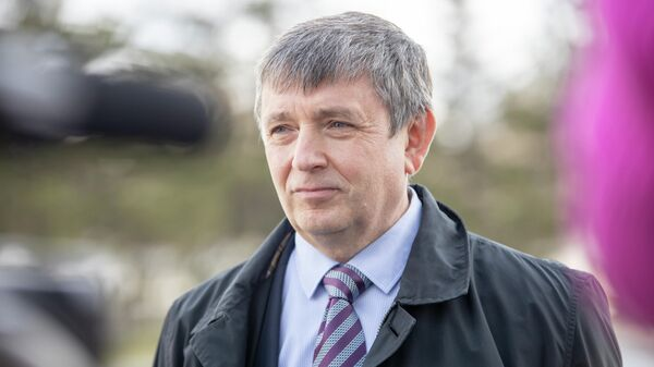 Ректор Уральского федерального университета Виктор Кокшаров