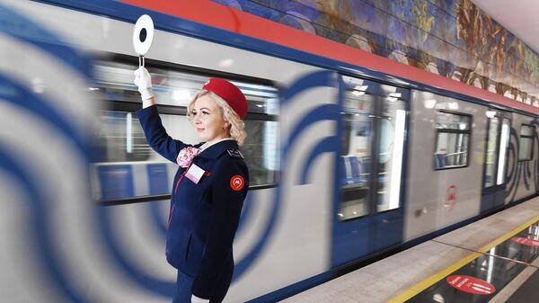 Запуск движения на участке Большой кольцевой линии метро (БКЛ) от станции Лефортово до Электрозаводская