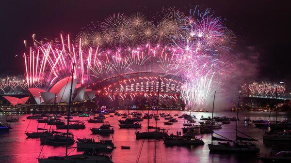 Празднование Нового года в Сиднее, Австралия