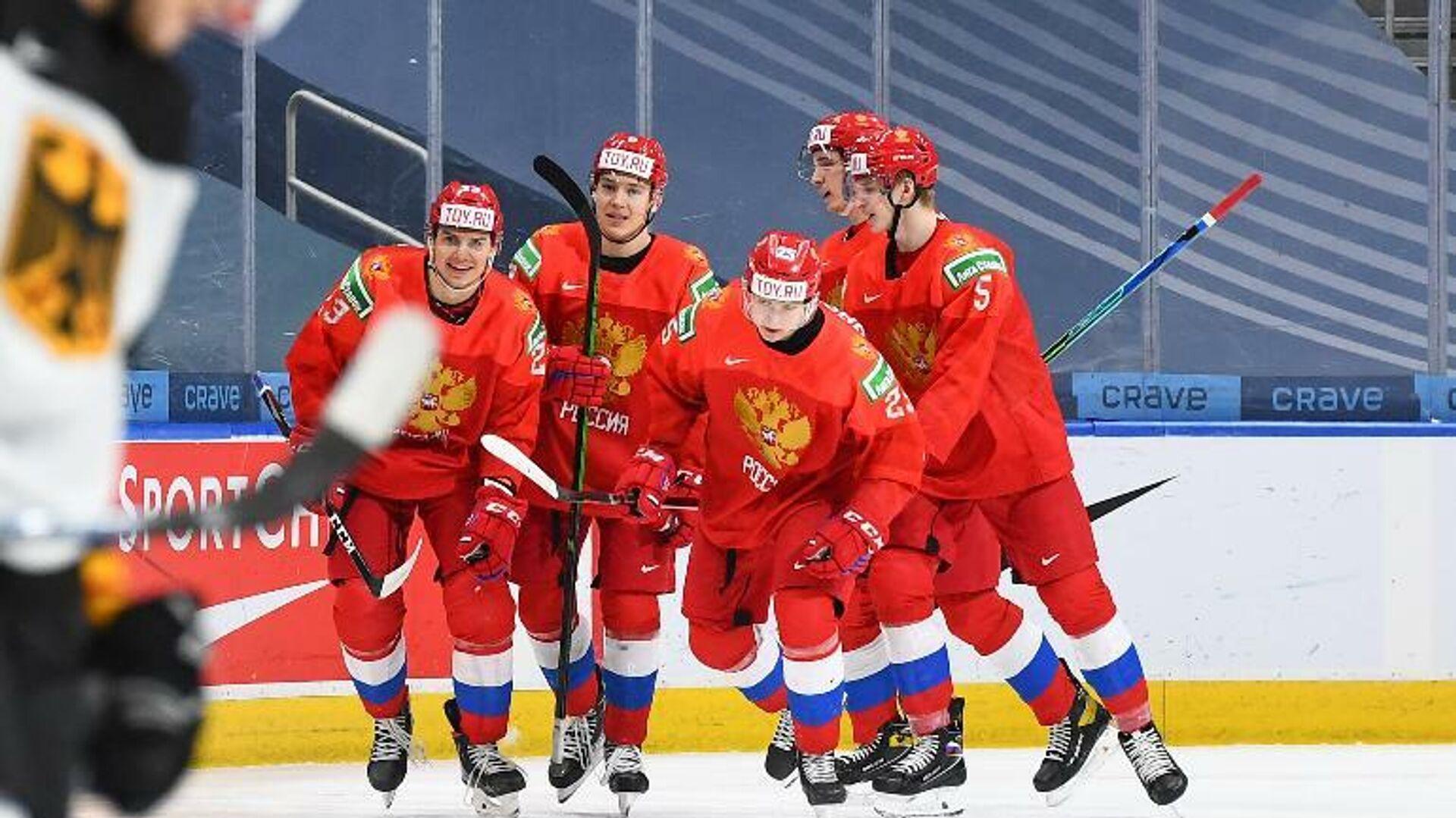 Хоккеисты сборной России - РИА Новости, 1920, 06.01.2021