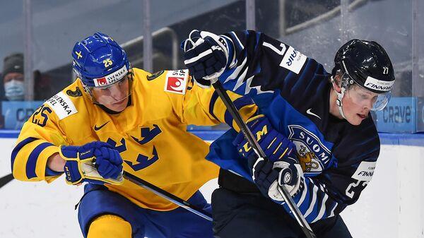 Матч Финляндия - Швеция