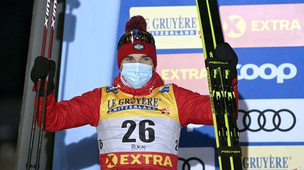 Лыжник Алексей Червоткин (Россия)