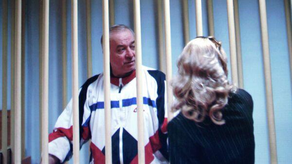Сергей Скрипаль в суде города Москвы. 2006 год