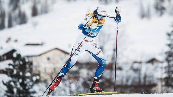 Шведская лыжница Линн Сван