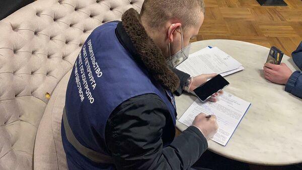 Рейд по предотвращению нарушений, связанных с работой предприятий общественного питания в Санкт-Петербурге
