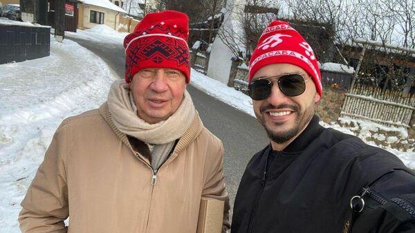Юрий Семин (слева) и Евгений Савин