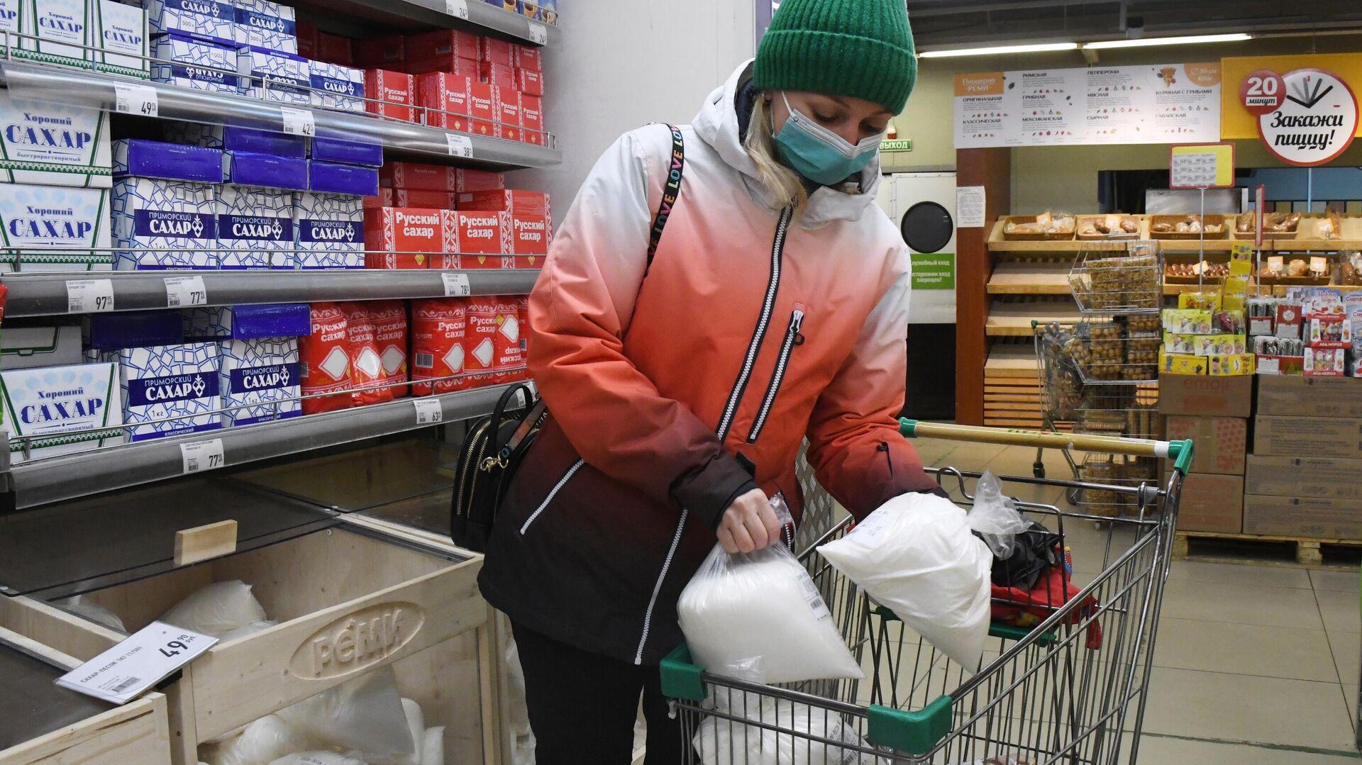 ФАС опровергла сообщения о приостановке поставок сахара в магазины