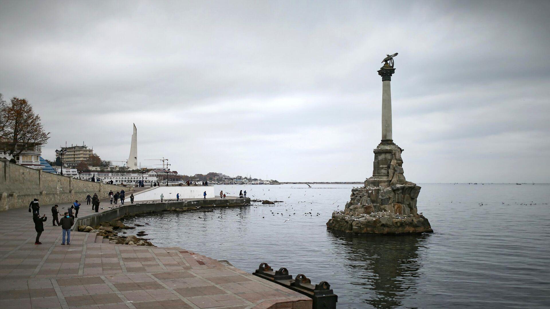 Памятник затопленным кораблям в Севастополе - РИА Новости, 1920, 13.02.2021
