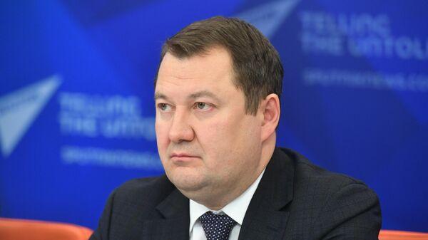Заместитель министра строительства и жилищно-коммунального хозяйства Российской Федерации Максим Егоров