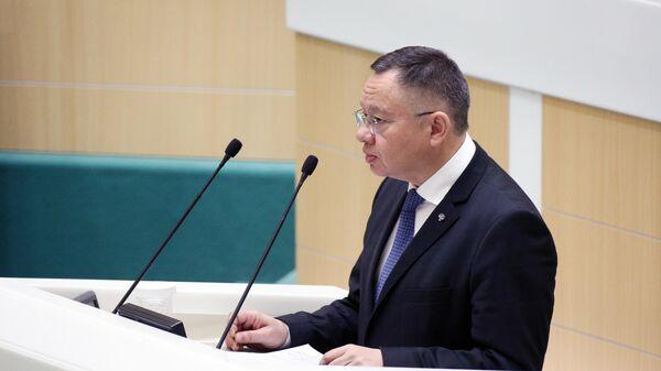 Заседание Совета Федерации, завершающее осеннюю сессию