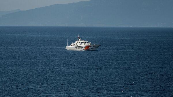 Судно турецкой береговой охраны