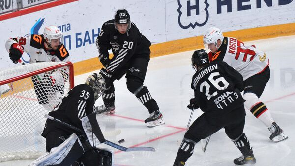 Хоккей. КХЛ. Матч Трактор – Авангард