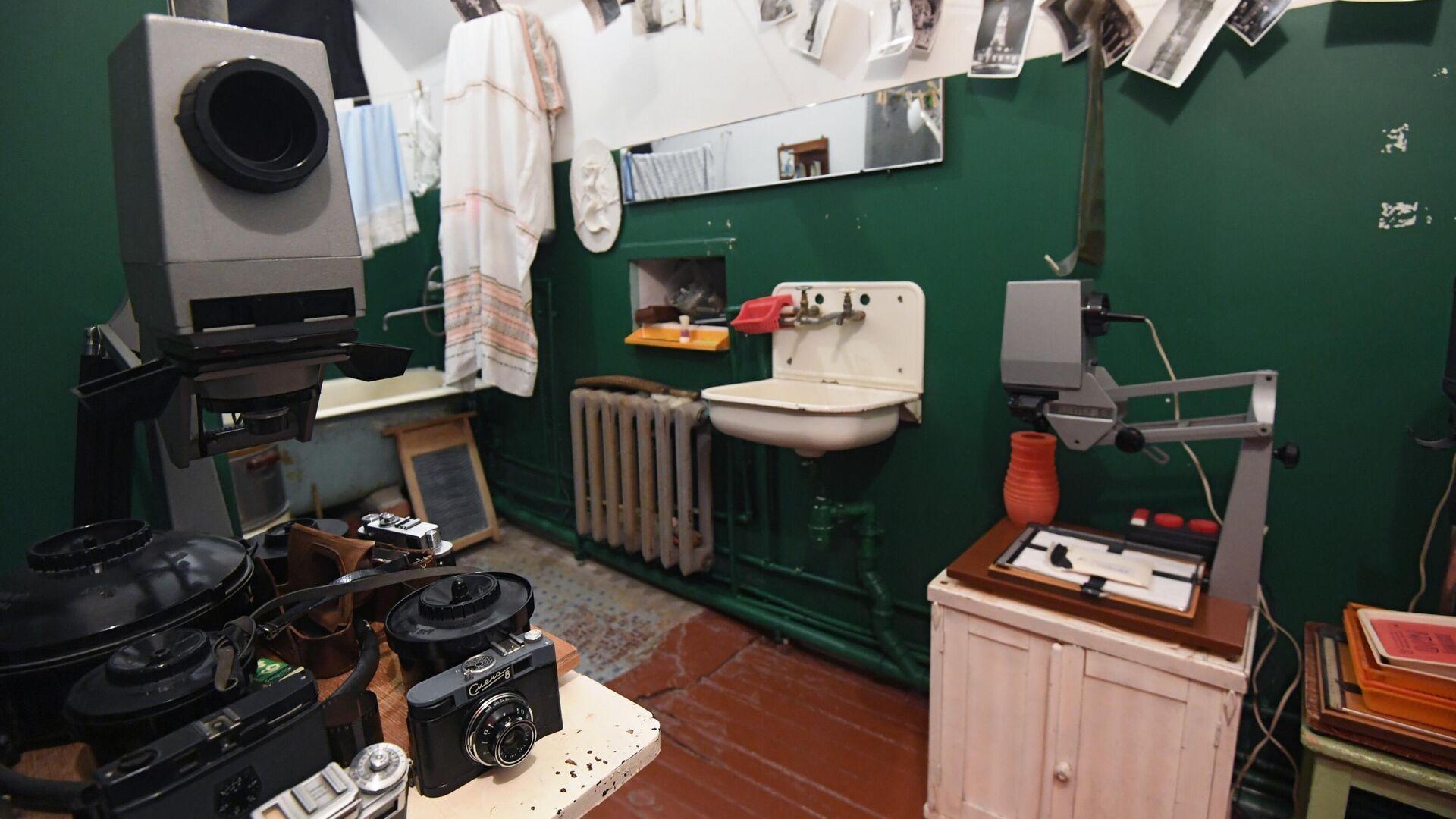 Ванная комната в музее Арткоммуналка. Ерофеев и Другие в Коломне - РИА Новости, 1920, 29.03.2021