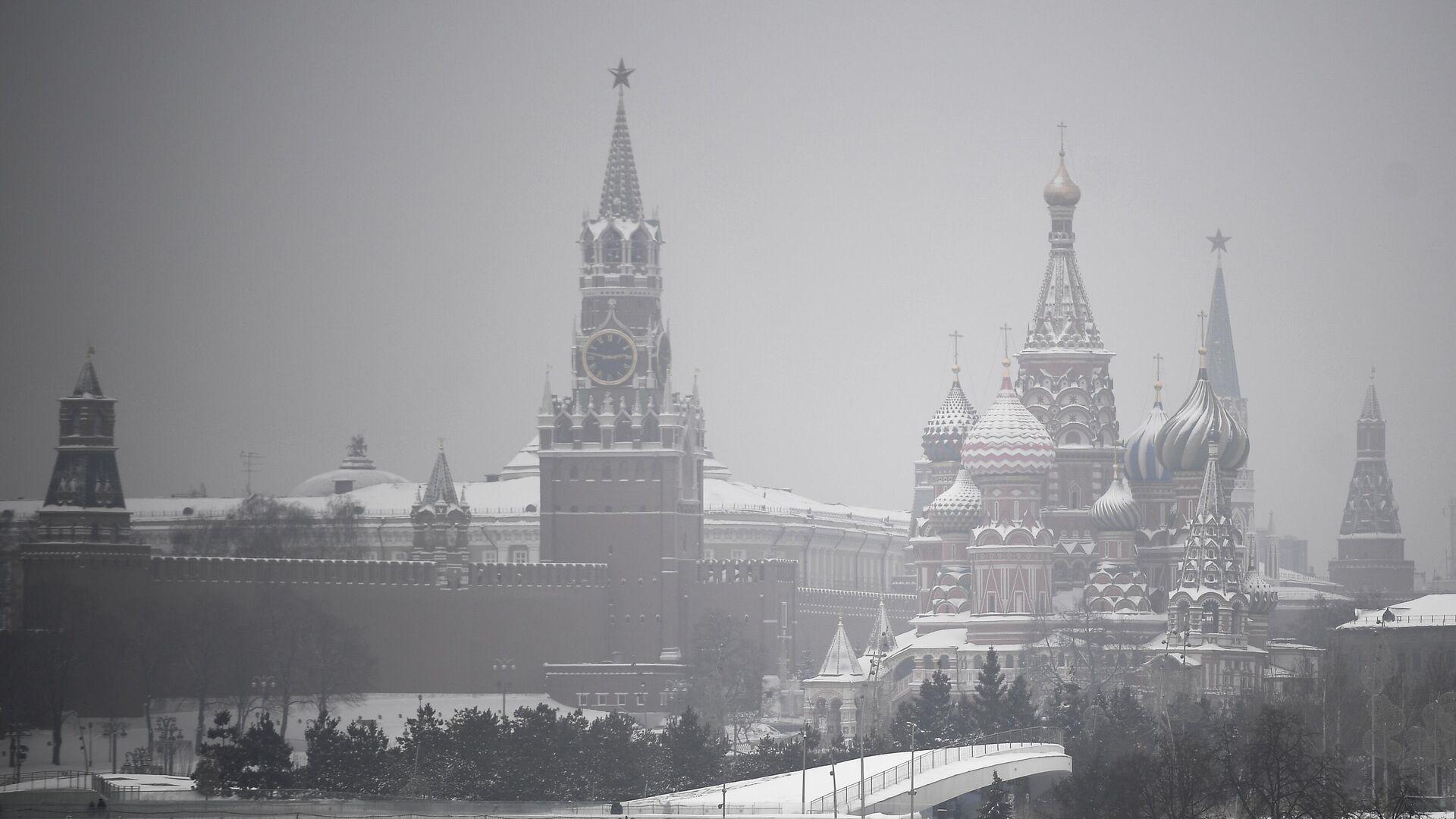 Башни Московского Кремля - РИА Новости, 1920, 27.01.2021