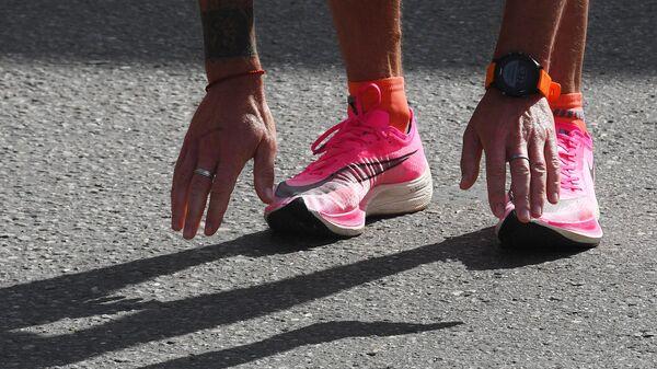Участник Московского марафона