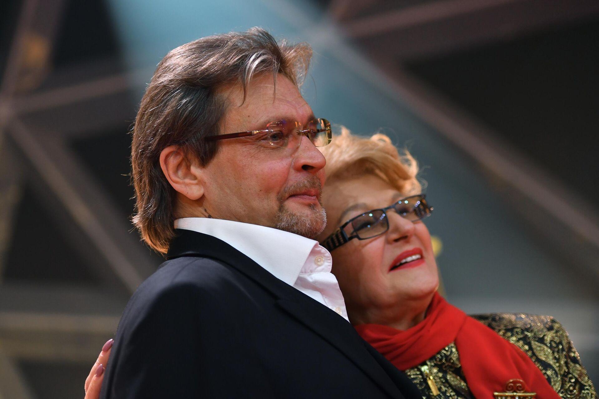 Светлана Дружинина и ее муж