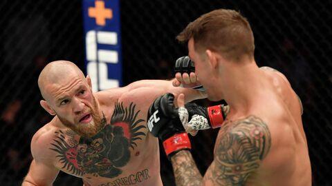 Конор Макгрегор против Дастина Порье на турнире UFC 257