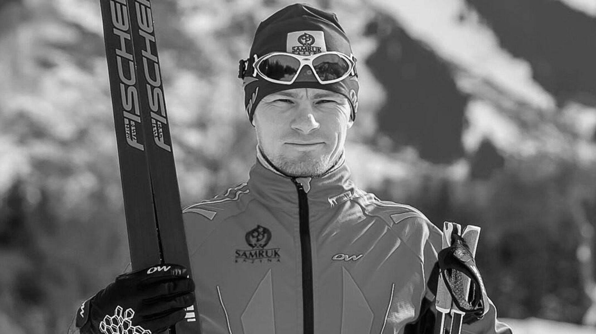 Казахстанский лыжник Николай Чеботько - РИА Новости, 1920, 24.01.2021