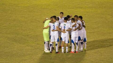 Футболисты бразильского клуба Пальмас
